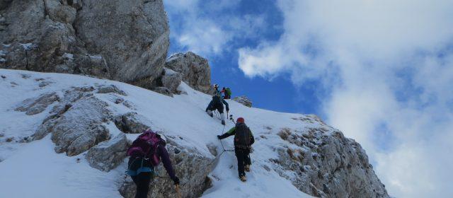 Corso base di Alpinismo Invernale