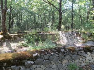scavi archeologici sul colle La Giostra