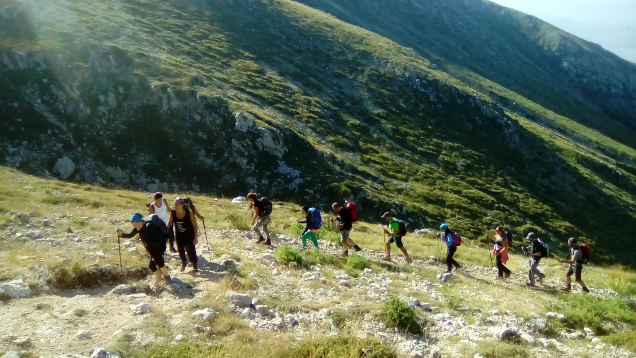 Escursione sulle vetta del Monte Velino