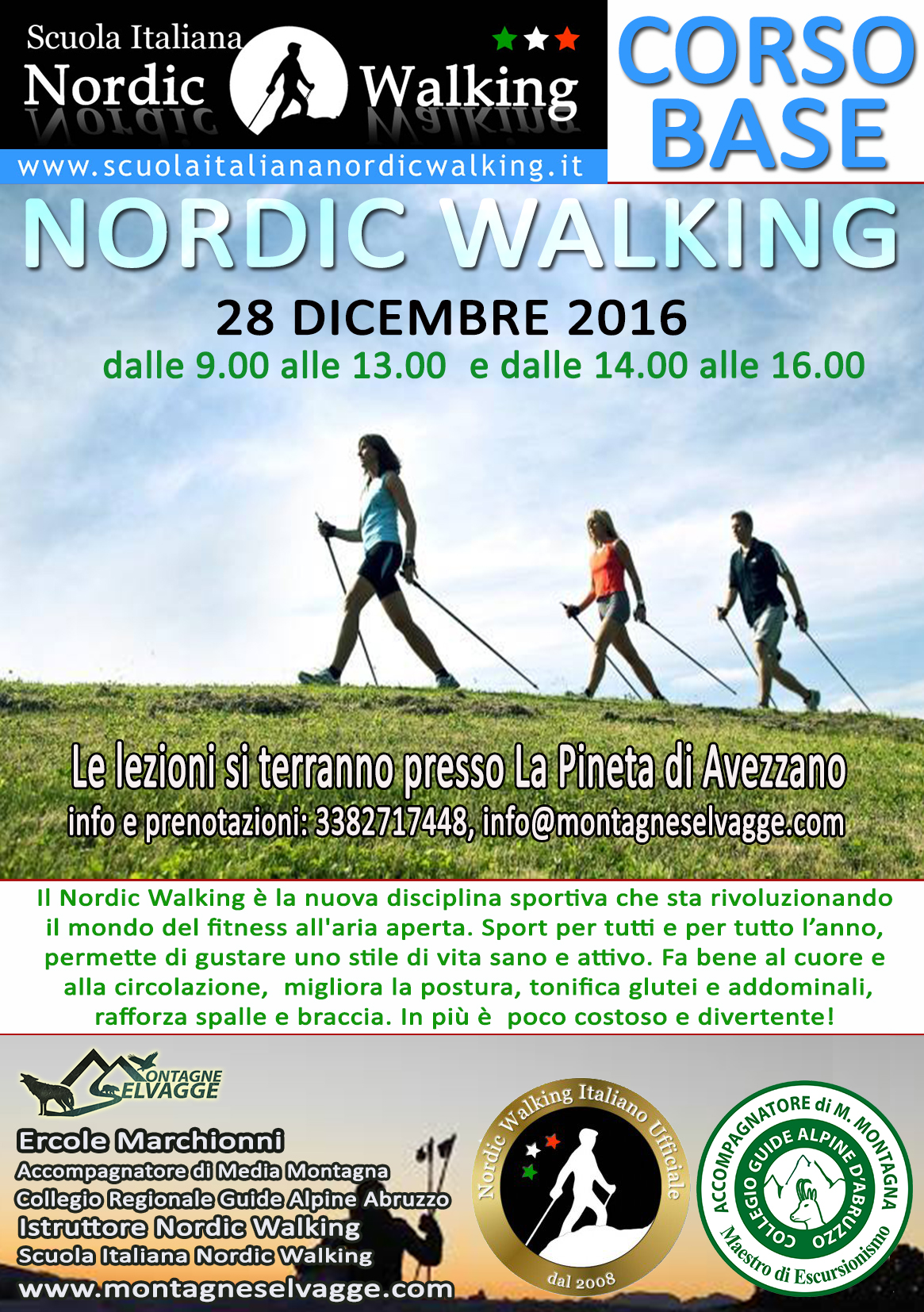 Nordic Walking ad Avezzano