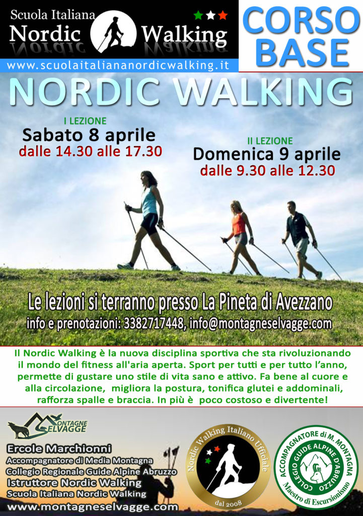 NORDIC WALKING AVEZZANO