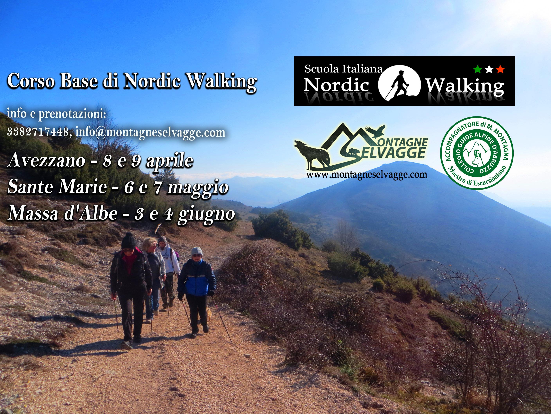 Corso base di Nordic Walking a Sante Marie
