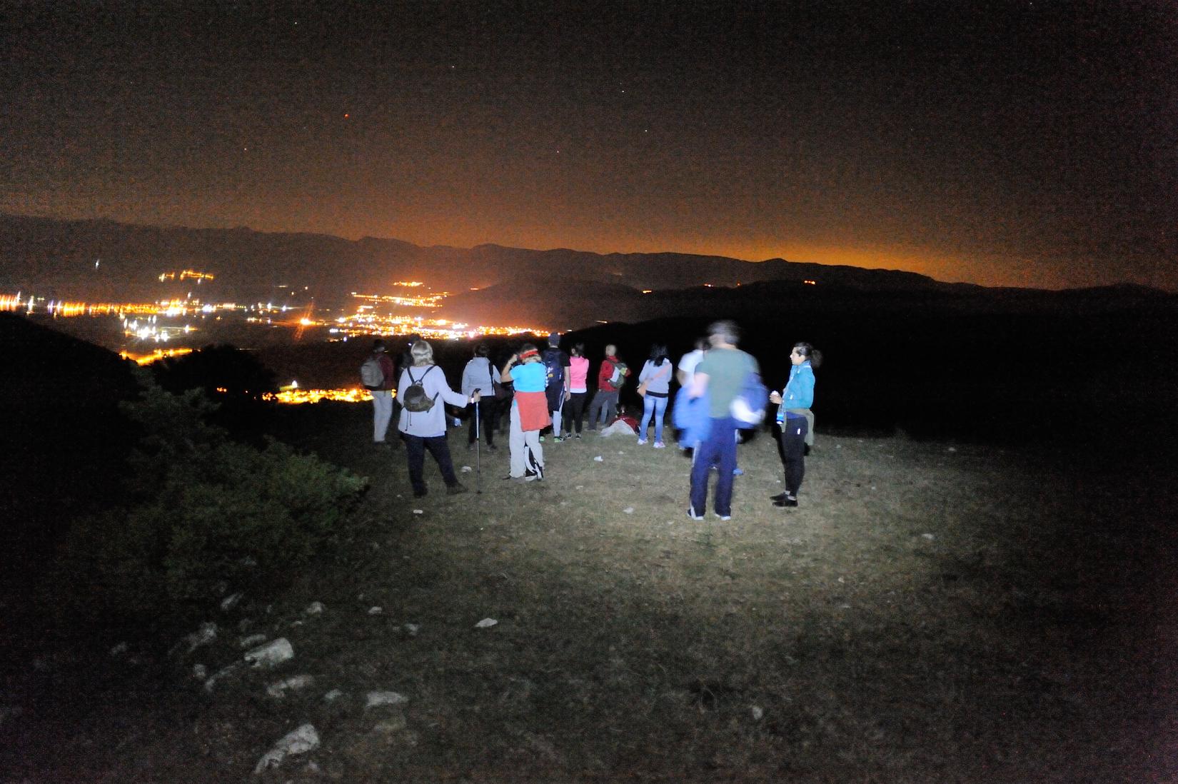 Escursione astronomica notturna guidata