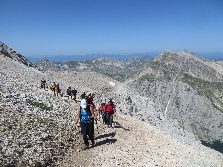 Escursione guidata sul Corno Grande – Gran Sasso d'Italia