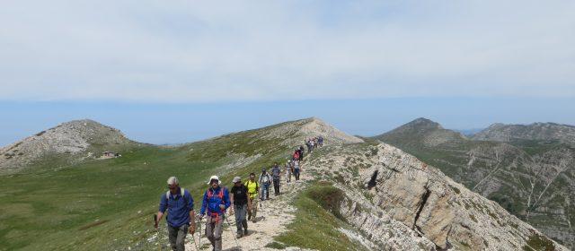 """Escursione guidata sulla vetta del Monte Velino, """"il Signore del Lago"""""""
