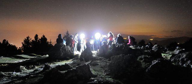 Escursione astronomica e cena in rifugio di montagna