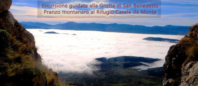 Escursione guidata alla Grotta di San Benedetto e pranzo in rifugio di montagna