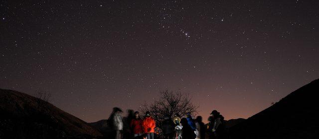Escursione astronomica sulle tracce di Orione – resoconto fotografico