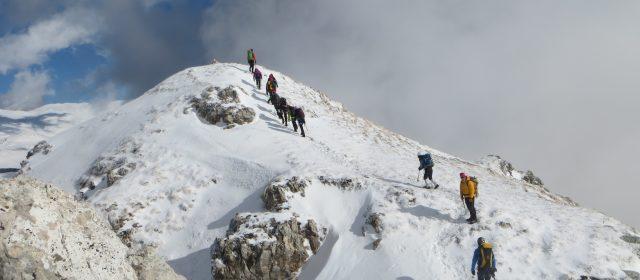 Corso base di alpinismo invernale [VIDEO]