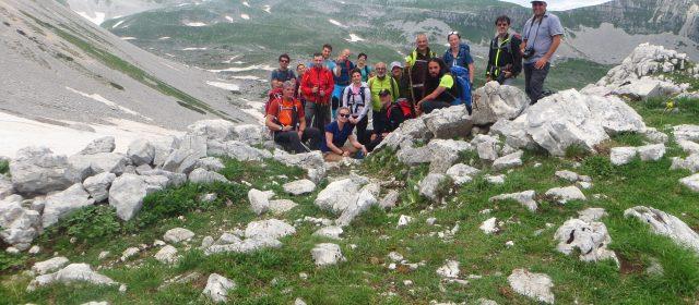 Resoconto fotografico dell'escursione guidata sul Monte Meta