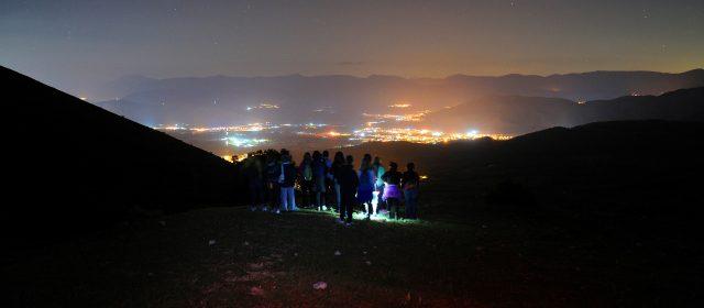 Escursione astronomica alle pendici del Monte Velino [FOTO]
