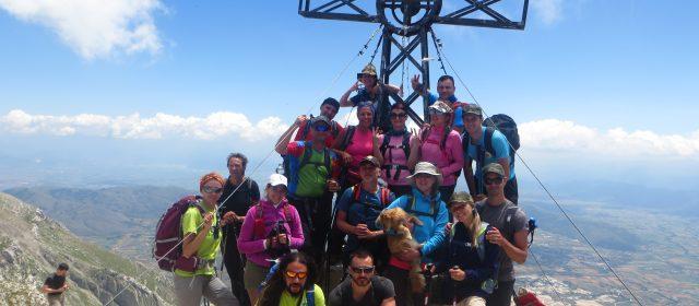Resoconto fotografico dell'escursione guidata sulla vetta del Monte Velino