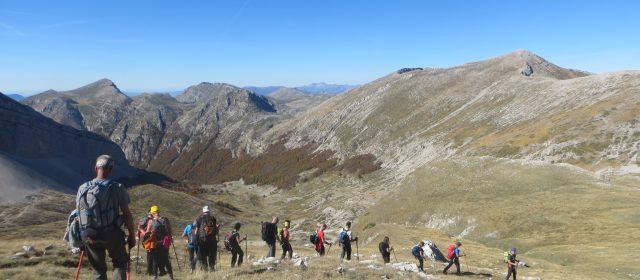 La Valle Majelama e il Monte Bicchero