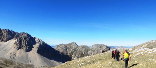 Dalla Valle Majelama alla vetta del Monte Bicchero.