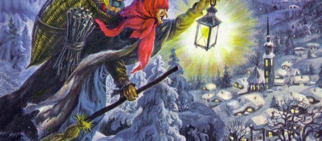 Le origini della Befana e il suo magico vagare