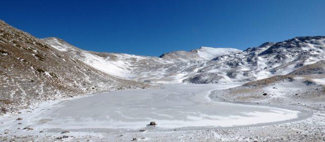L'incanto del Lago della Duchessa ghiacciato [video e foto]
