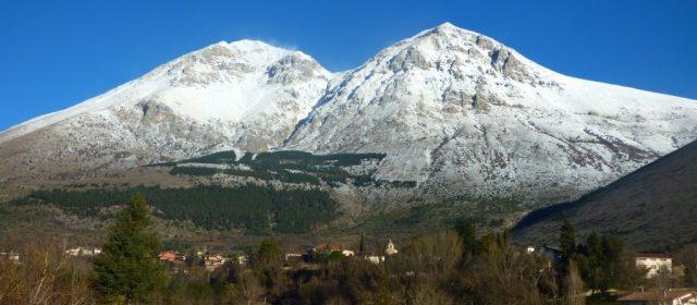 La bellezza del Monte Velino innevato [FOTO]